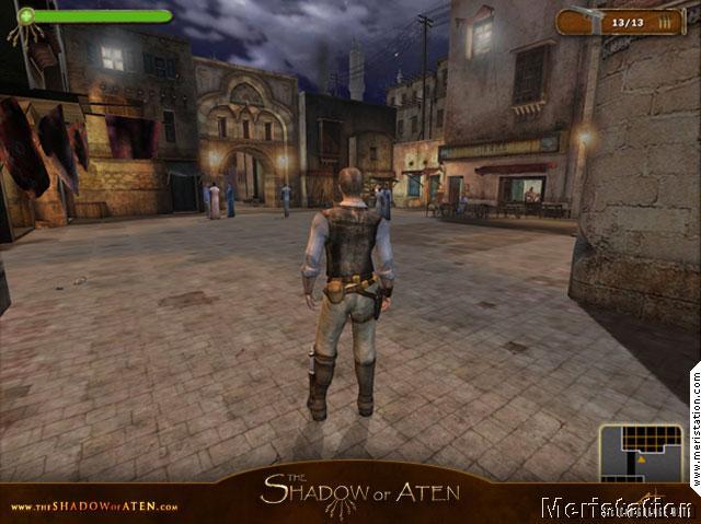 The Shadow of Aten, proyecto cancelado de Silicon Garage Arts