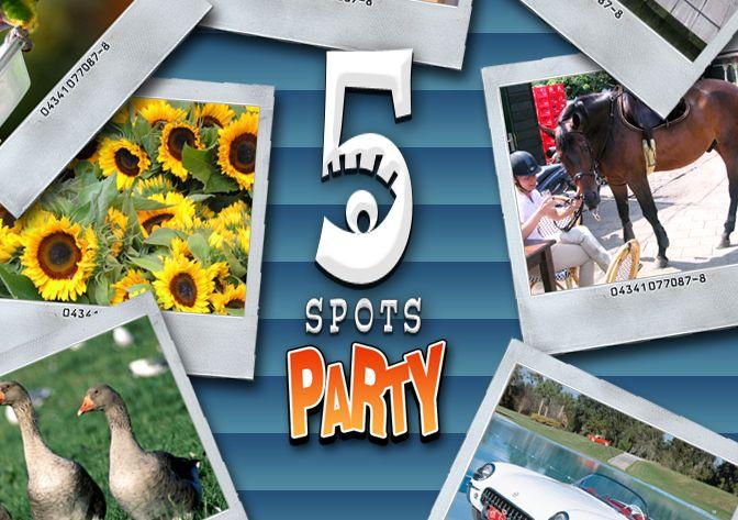 5 spots party portada