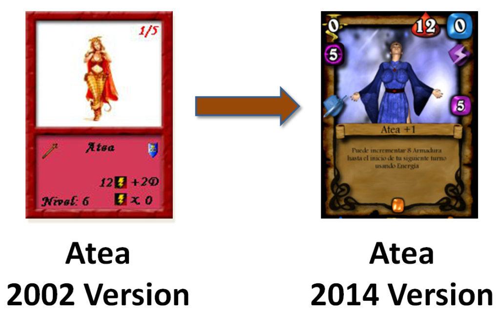Rolplay: Evolución de las cartas