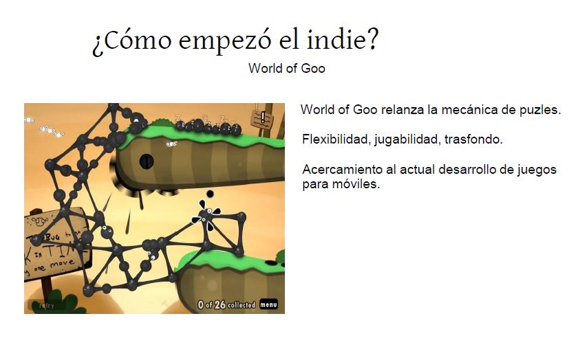 Indie origen evolucion 1 - Gamepolis