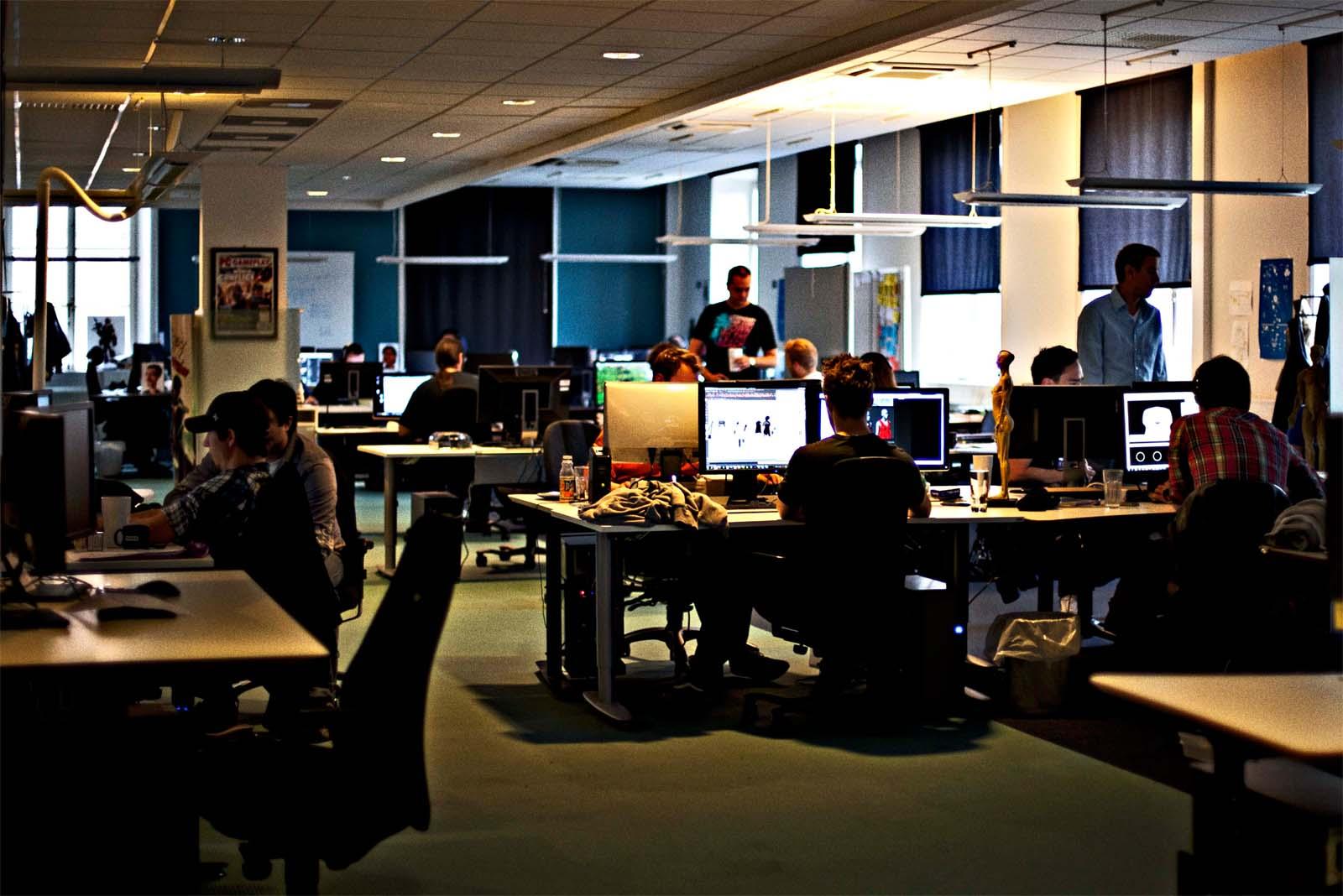 Imagen de una oficina de Ubisoft
