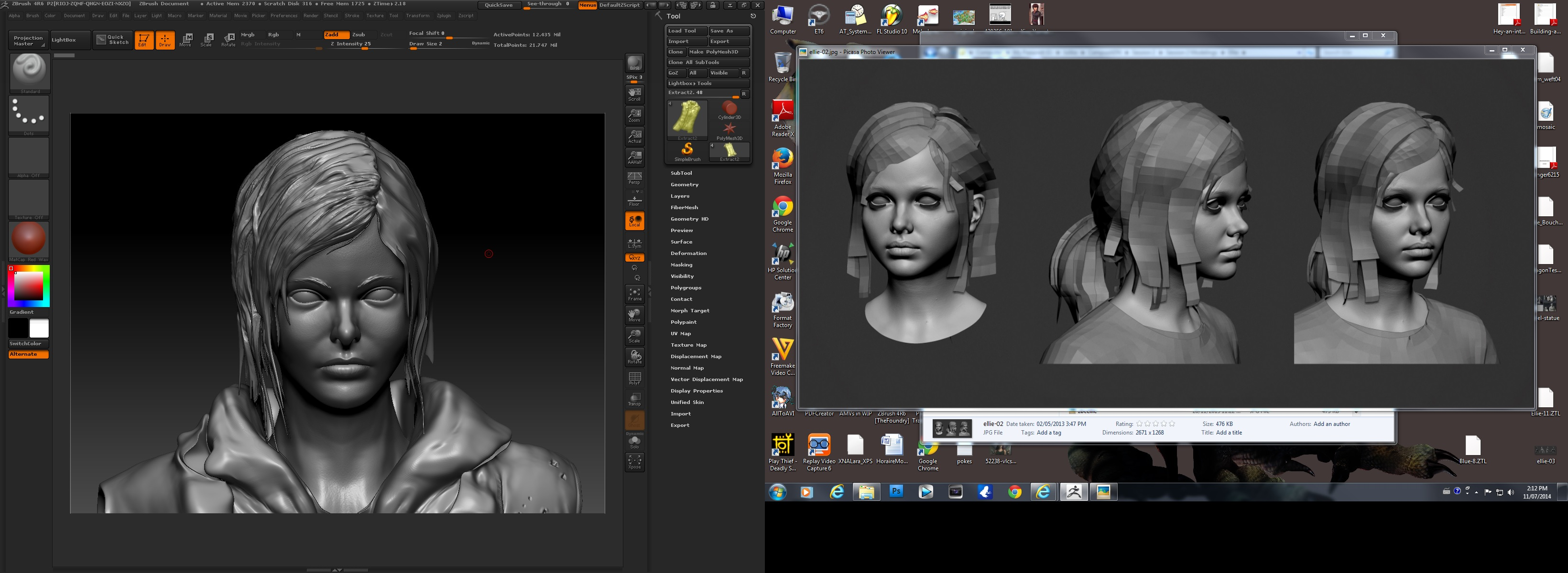 ellie_from_last_of_us___3d_sculpting_zbrush_wip_1_by_julika_nagara-d7q8m5c