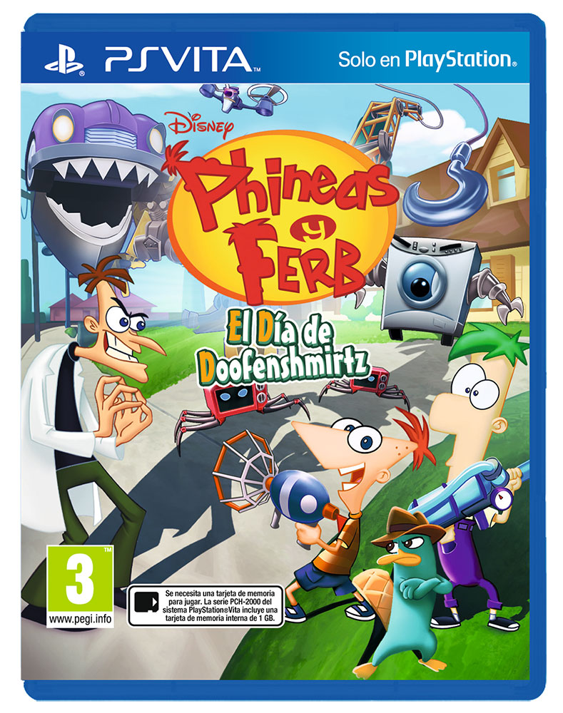 Carátula Phineas&Ferb