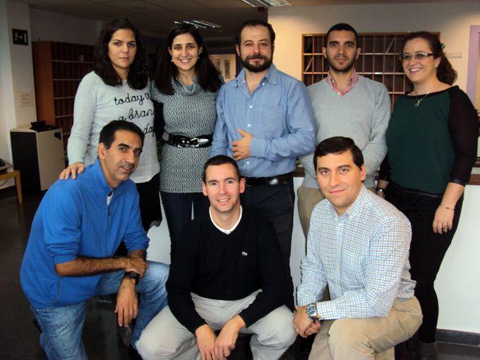 Con el grupo de investigación