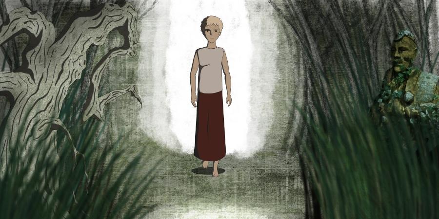Saucer-Like, aventura gráfica dibujada a mano, se postula en Steam Greenlight