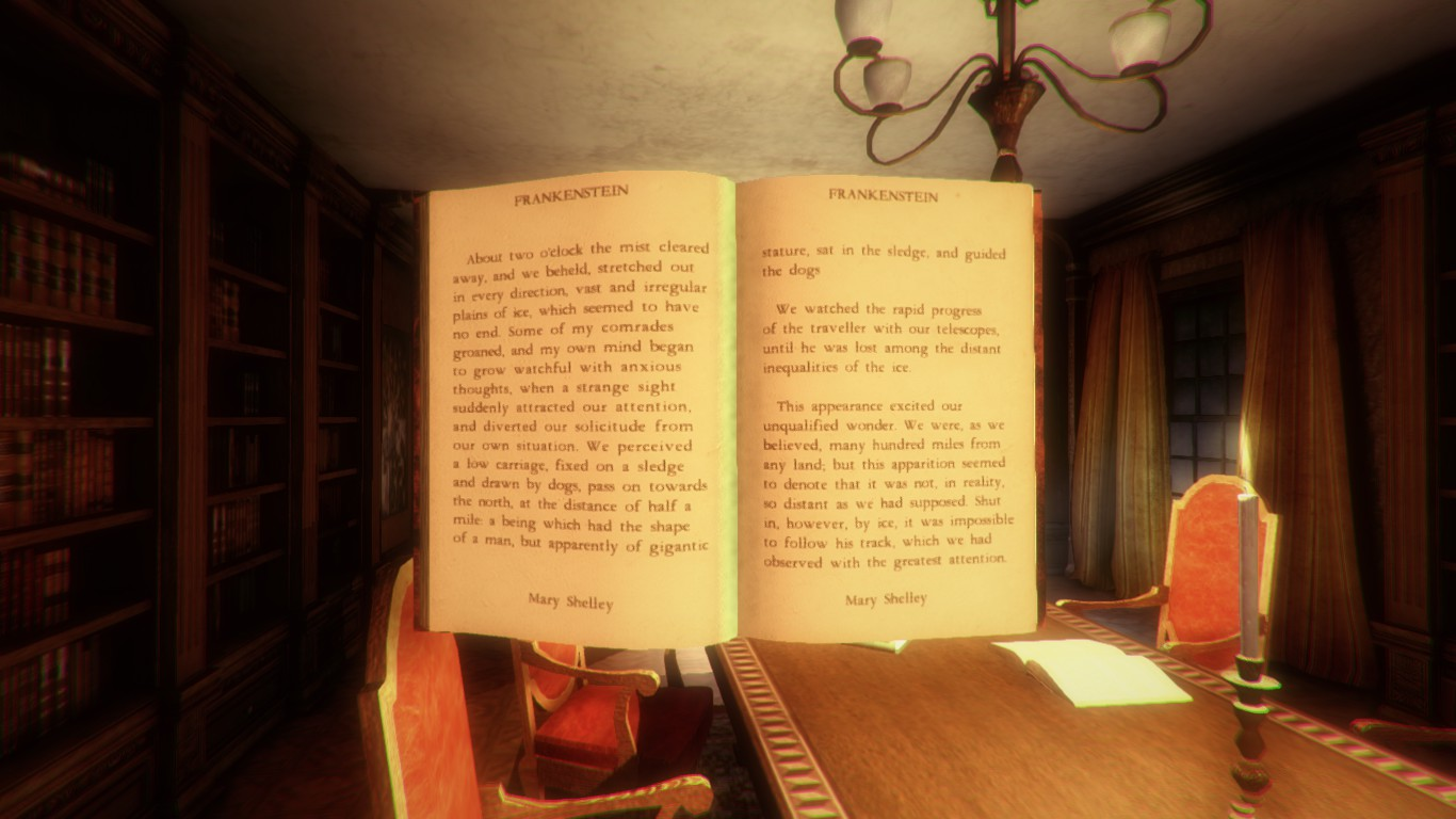 Uno de los muchos libros que encontraremos... Frankestein