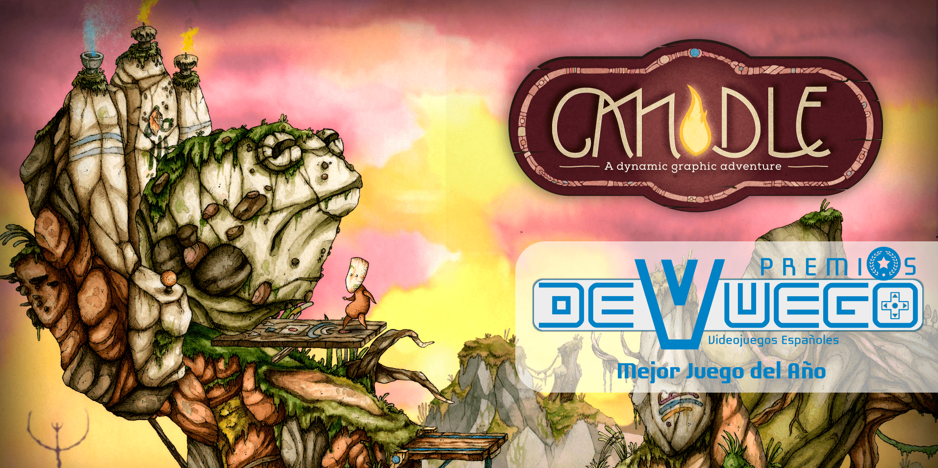 Premios DeVuego 2016: Candle, mejor videojuego español de 2016