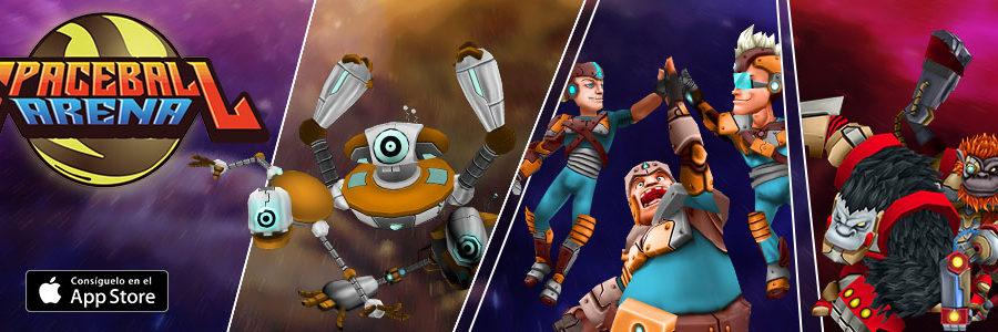 Spaceball Arena lleva los eSports a móviles iOS gracias a GAME eSports