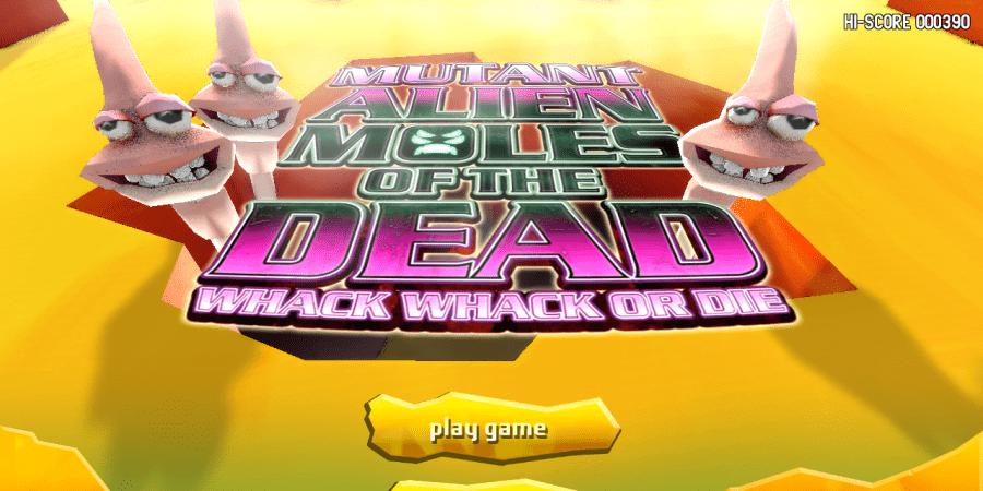 Mutant Alien Moles of the Dead pondrá a prueba tus reflejos en Wii U