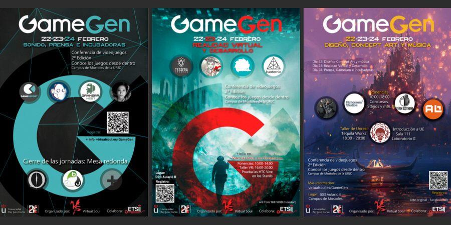 GameGen: 3 días de charlas sobre desarrollo, arte, realidad virtual, prensa y mucho más