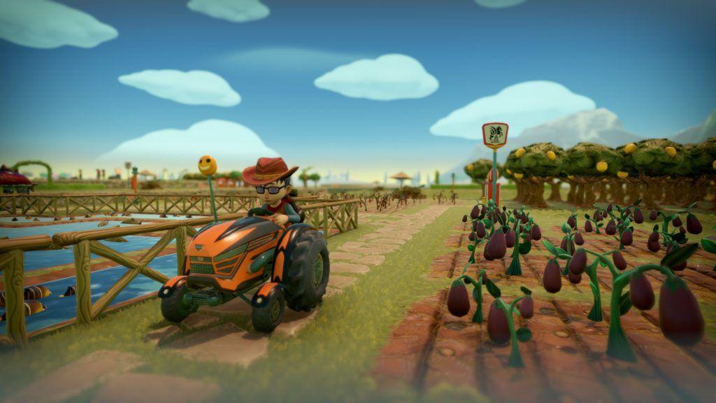 Videojuegos españoles década Alba Farm Together