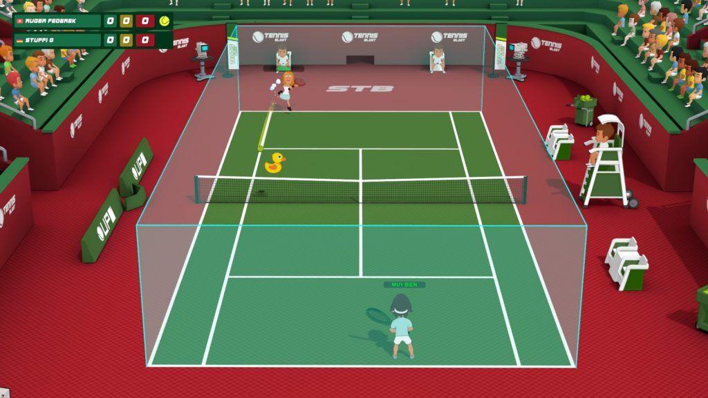Super Tennis Blast imagen paddle