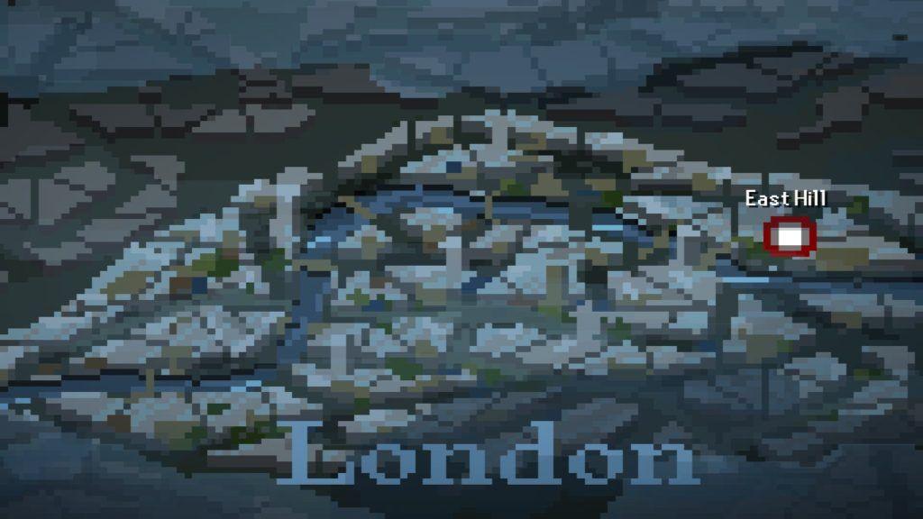 The Last Door mapa