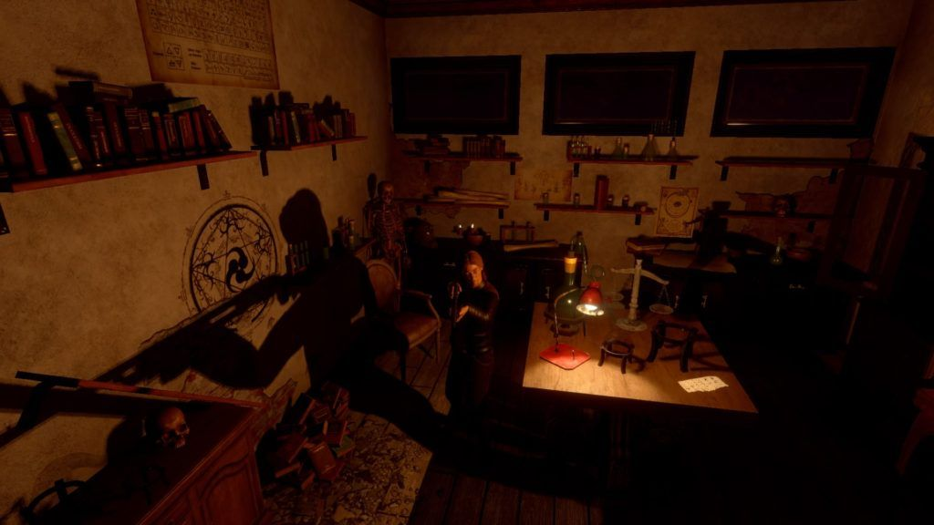 Dawn of Fear imagen sala de alquimia