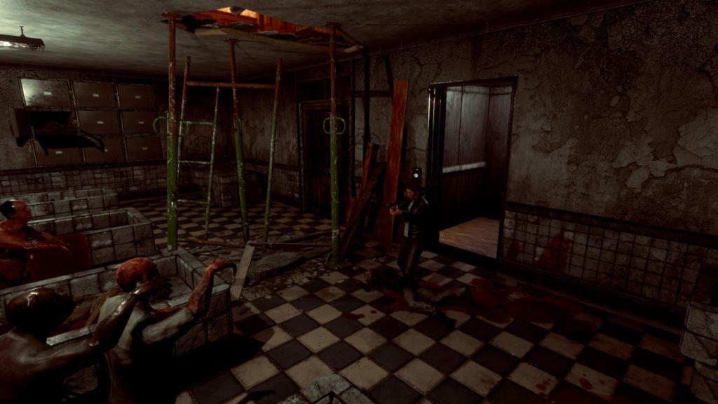 Dawn of Fear imagen 2. Enemigos en la morgue
