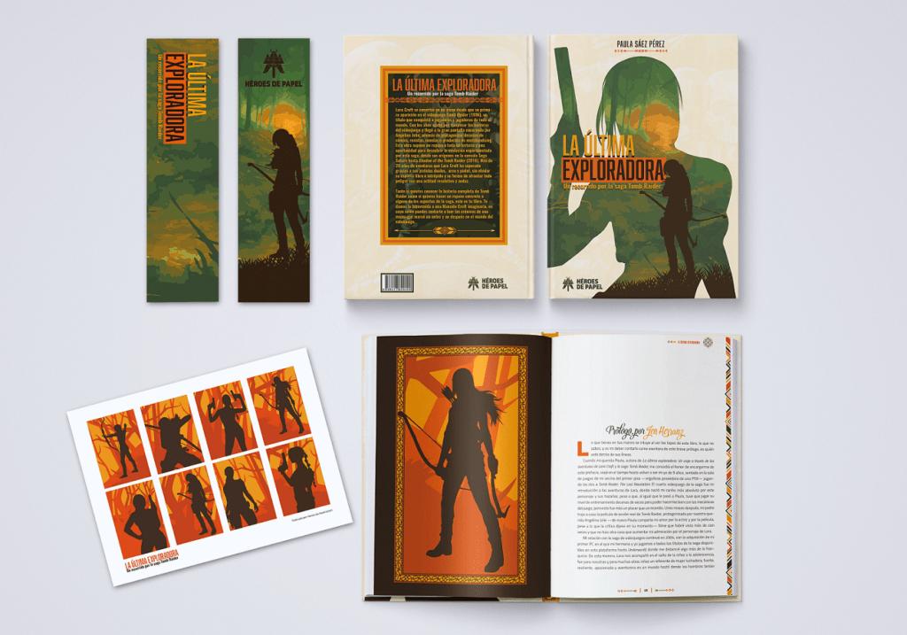 Héroes de Papel presenta a Lara Croft en 'La última exploradora',