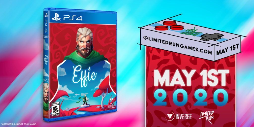 Effie, el indie valenciano de Invergue Studios, saldrá en físico a PS4