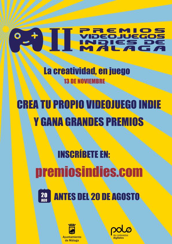 ¡Inscríbete en el II Concurso Nacional de Videojuegos Indies!