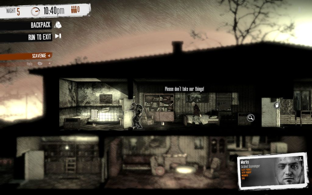 Dificultad This War of Mine