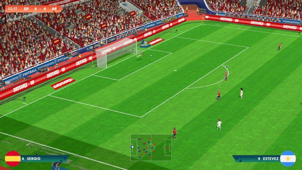 Super Sports Blast fútbol