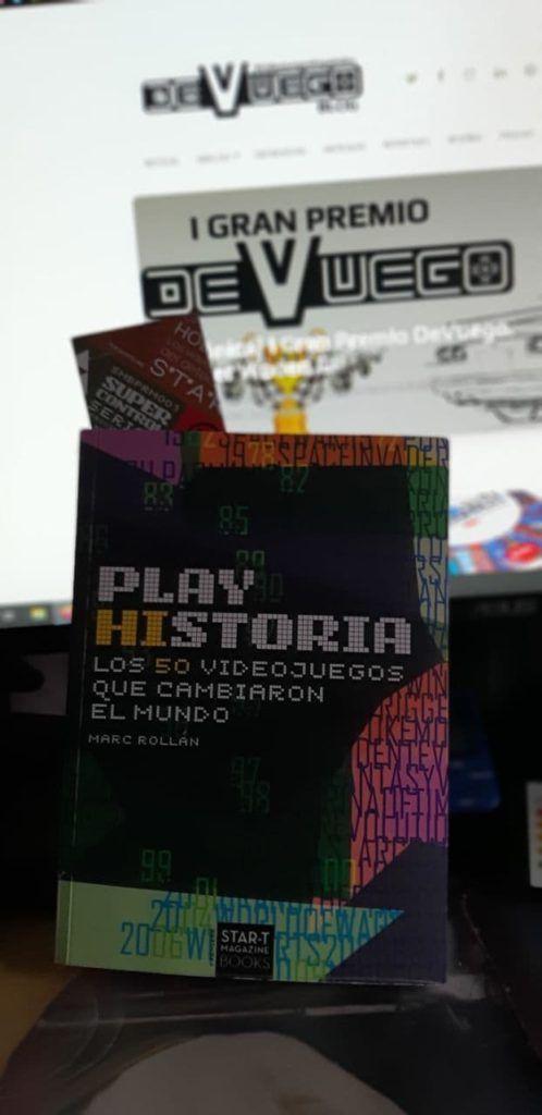 Portada del libro Play Hisotira